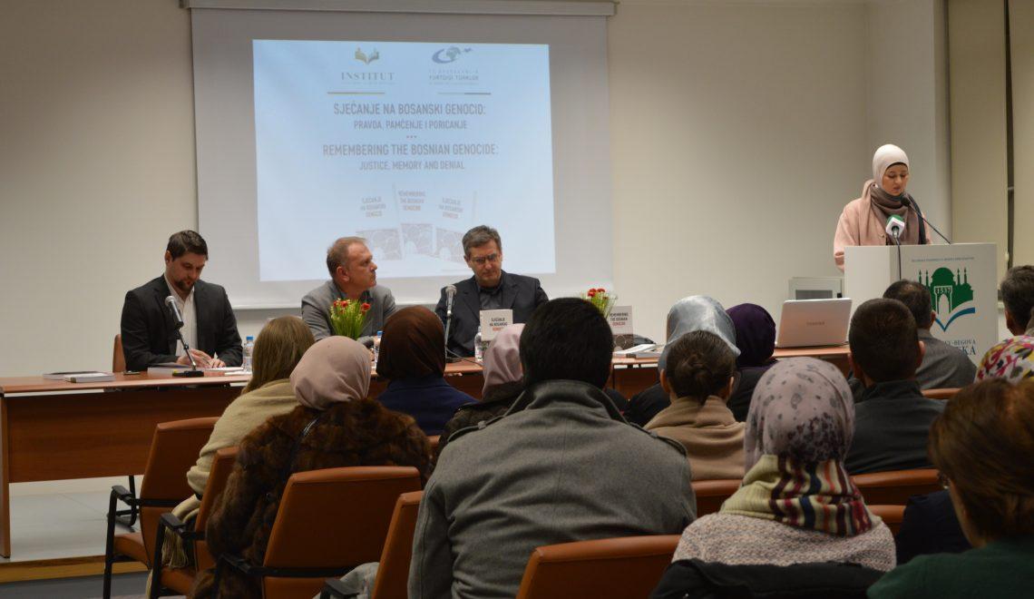 """Video: Promocija knjige """"Sjećanje na bosanski genocid:pravda, pamćenje i poricanje"""""""