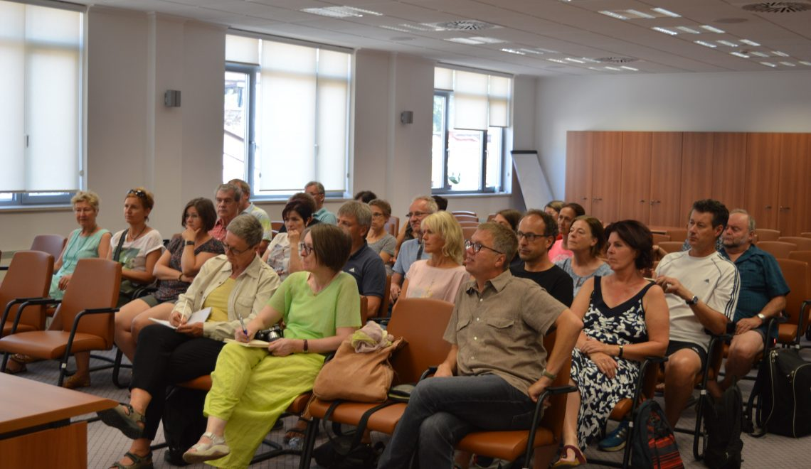 Delegation of Pedagogical Faculty in Linz, Austria visited the Institute