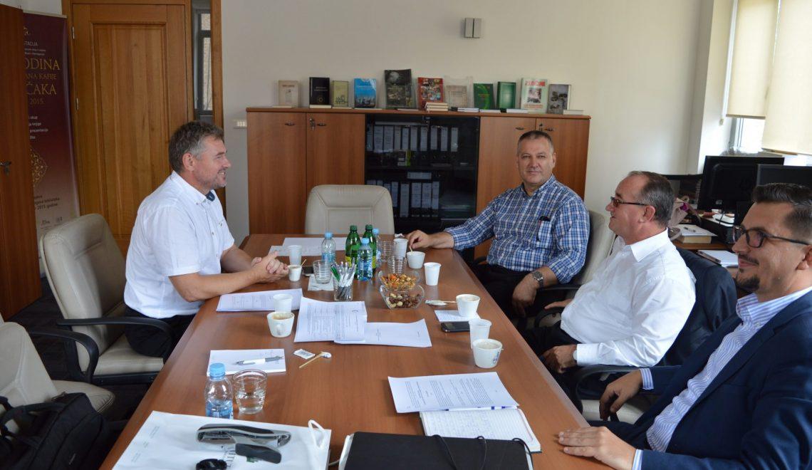 Radni sastanak s predstavnicima Instituta za društvena i religijska istraživanja