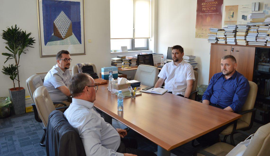 Institut za društvena i religijska istraživanja u posjeti Institutu